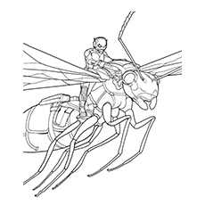 10 Printable Ant Man Coloring Pages For Toddlers
