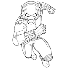 Delightful Ant Man Coloring Pages   Ant Man