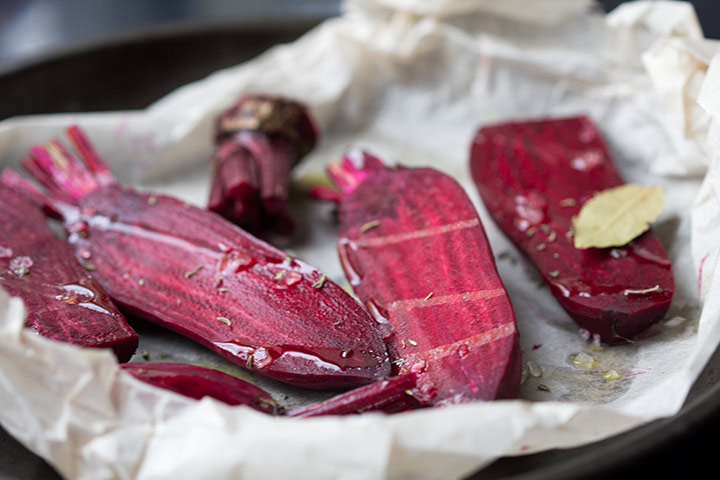 Beetroot Recipes For Toddlers - Baked Beetroot Shapes