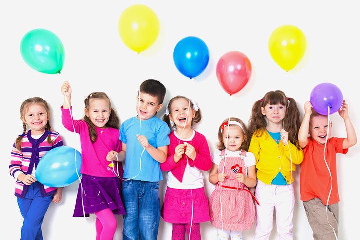 New Years Activities For Kids - Balloon Wish