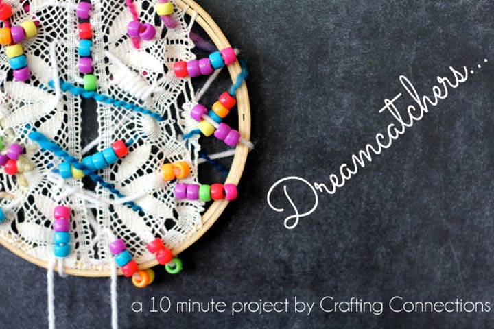 3D Art For Kids - Beads Dreamcatcher