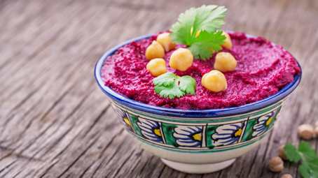 Beetroot And Chickpea