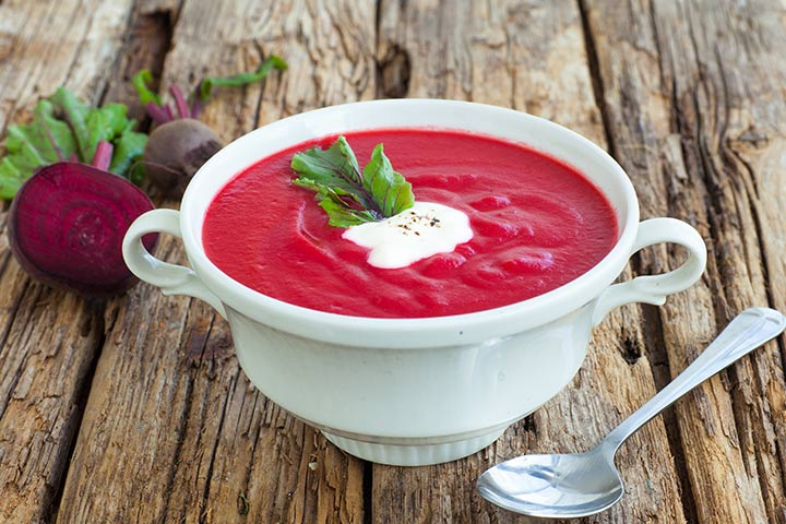 Beetroot Recipes For Toddlers - Beetroot Soup