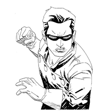 Ant Man Coloring Pages - Bucky Barnes