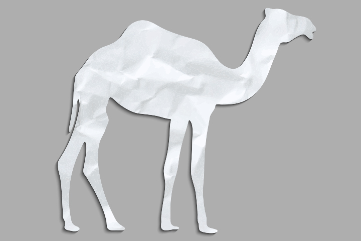 Camel Crafts For Kids - Camel Paper Craft