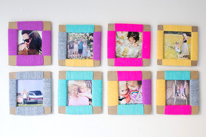 Mother's Day Craft Ideas For Kids - Cardboard Frame