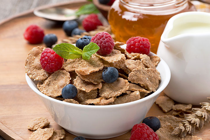 High Protein Breakfast For Kids - Cereal