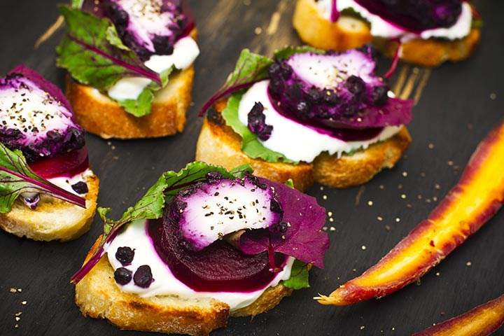 Beetroot Recipes For Toddlers - Cheesy Beetroot Bites