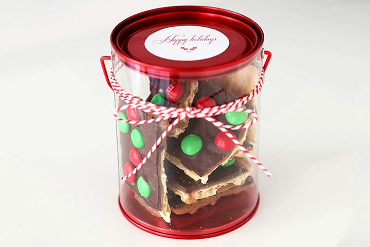 Christmas Gifts For Kids - Christmas Crack Toffee