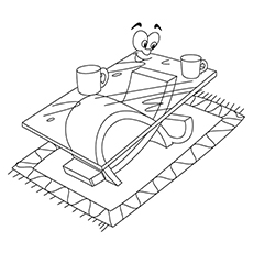 Coffee Coloring Pages - Coffee Table