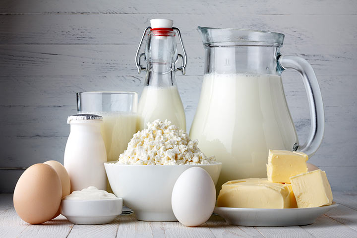 High Protein Breakfast For Kids - Dairy Products
