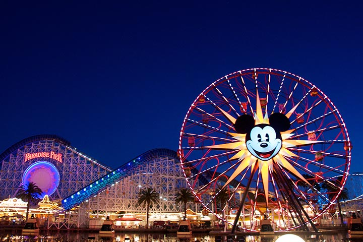 Theme Parks In USA - Disneyland, California