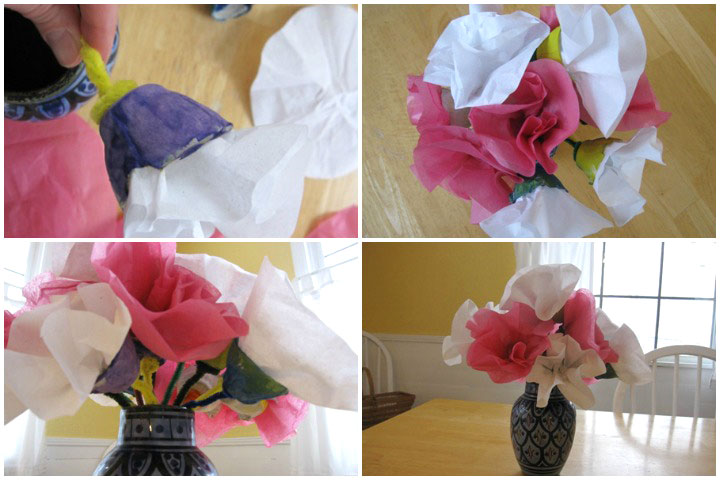 3D Art For Kids - Egg Carton Flowers
