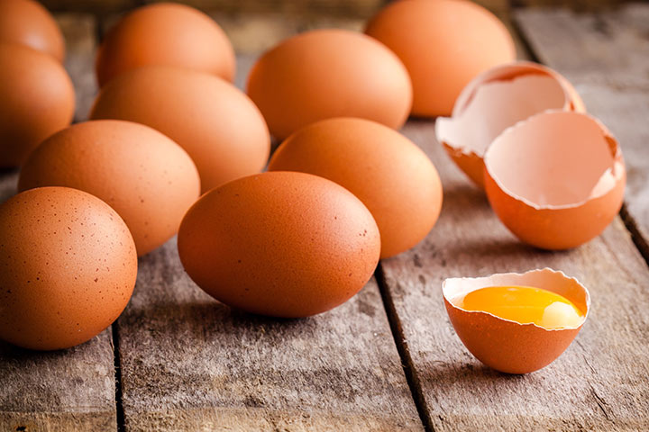 High Protein Breakfast For Kids - Eggs