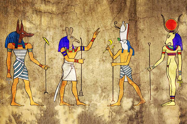 Image result for egyptian gods and goddesses