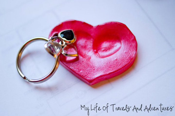 Christmas Gifts For Kids - Finger Print Key Chain