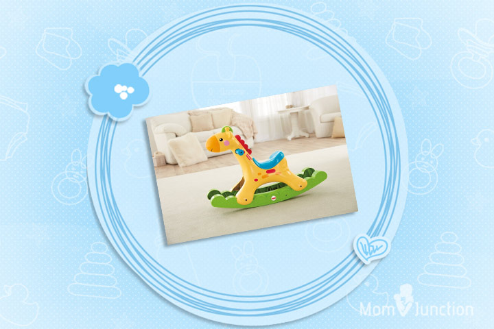 Christmas Gifts For Babies - Fisher-Price Rockin' Tunes Giraffe