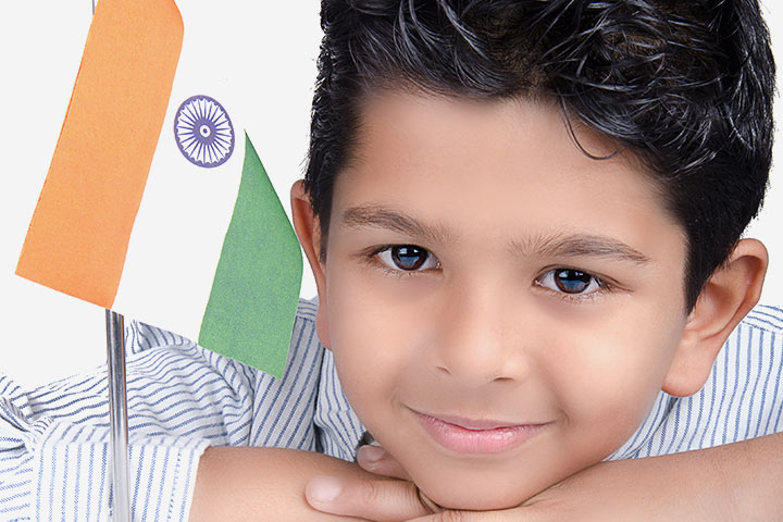 Independence Day Activities For Kids - Flag Hoisting