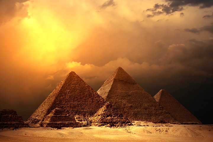 Ancient Egyptian Pyramids For Kids