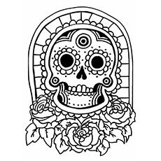 Hawaiian Tiki Coloring Pages to Print