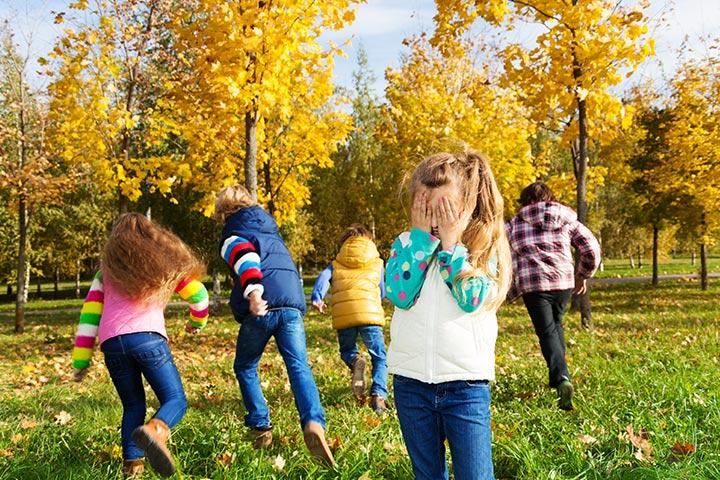 Keeping Kids Busy - Hide And Seek