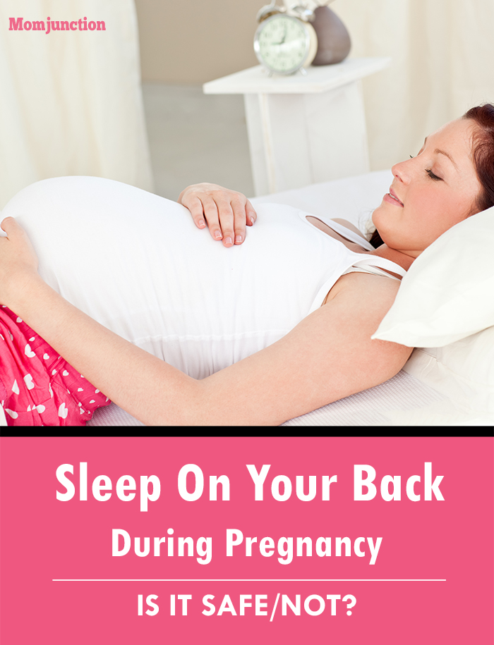 Pregnant Sleeping On Your Back 95