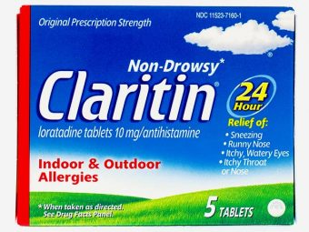Is It Safe To Take Claritin (Loratadine) While Breastfeeding?