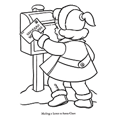 Worksheet. 30 Cute Santa Claus Coloring Pages For Your Little Ones