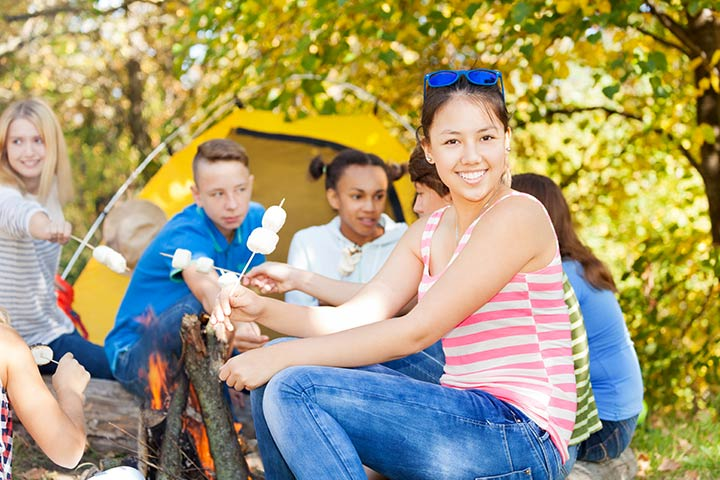 Summer Camp Activities For Kids - Make Campfire Scones