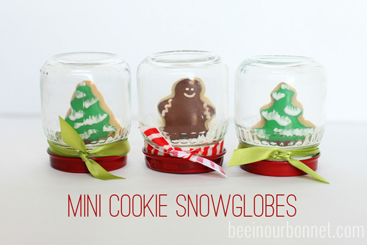 Christmas Gifts For Kids - Mini Cookie Snow Globe