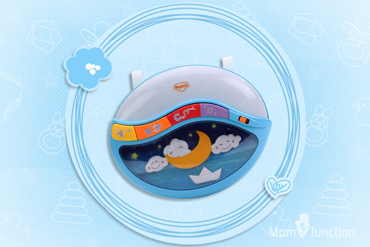 Best Toys For Babies - MitashiSkykidz Lullaby Moon Night Light