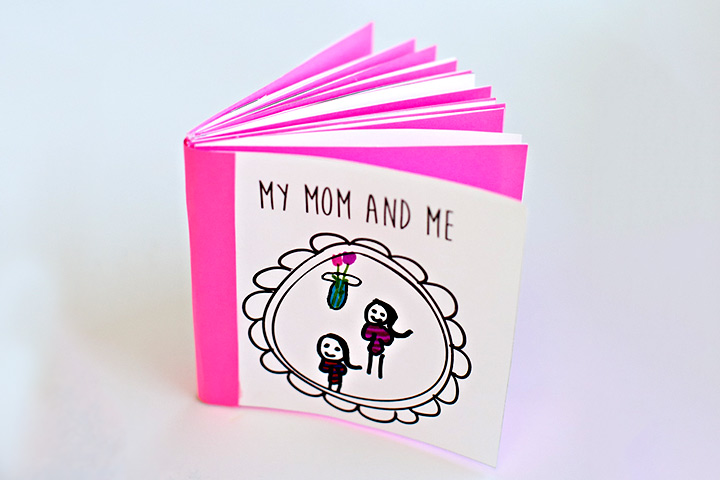 Mother's Day Craft Ideas For Kids - Mom And Me Book