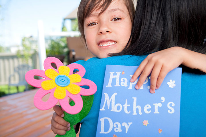 Mother's Day Crafts And Greeting Card