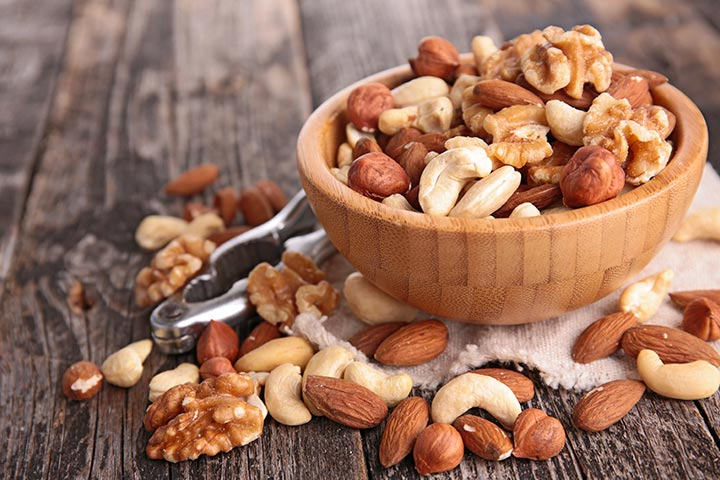 High Protein Breakfast For Kids - Nuts