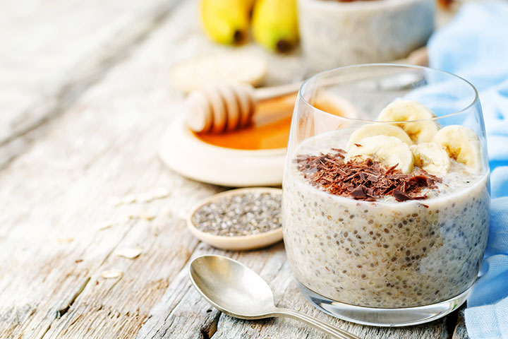 High Protein Breakfast For Kids - Oatmeal