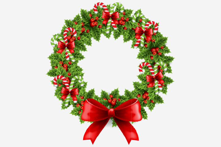 Christmas Activities For Kids - Paper Christmas Wreath