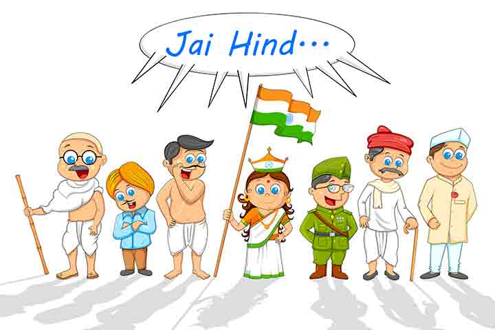 Patriotic costume contest