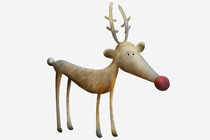 Christmas Activities For Kids - Pin The Nose On Rudolph