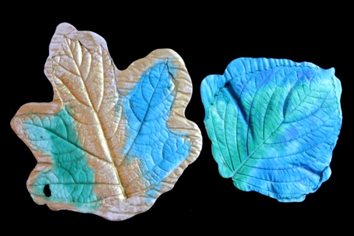 3D Art For Kids - Plaster Leaf Casting