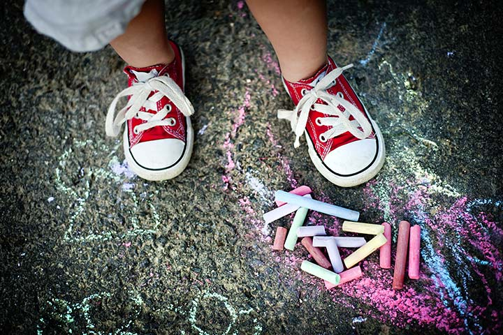 Summer Camp Activities For Kids - Play Chalk Twister