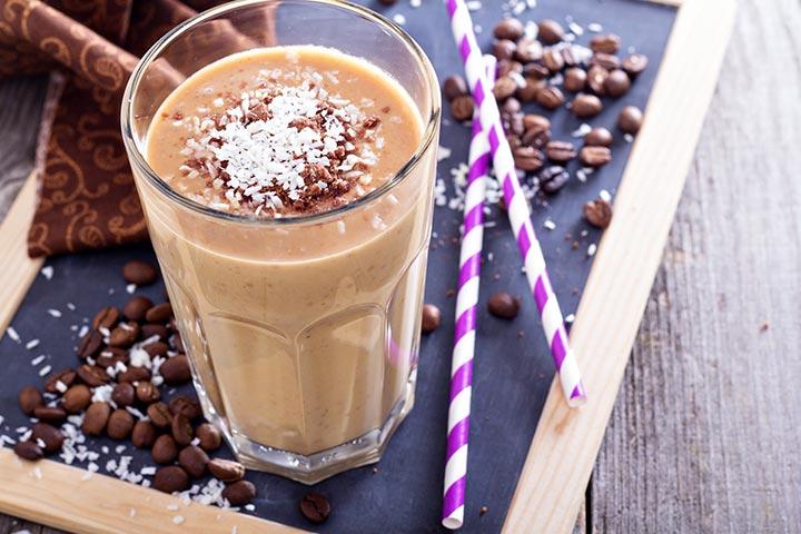High Protein Breakfast For Kids - Protein Smoothie
