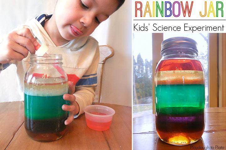 Rainbow Facts For Kids- Rainbow Jar