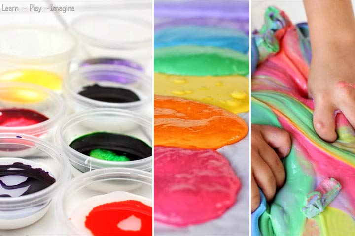 Rainbow Facts For Kids- Rainbow Slime