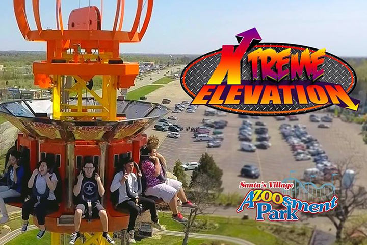 Theme Parks In USA - Santa's Village Azoosment Park, Illinois