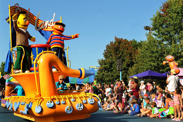 Theme Parks In USA - Sesame Place, Philadelphia