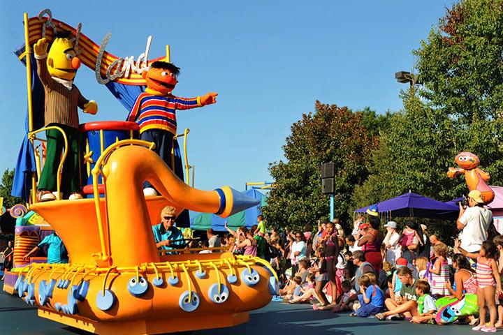 Theme Parks In USA - Sesame Place, Philadelphia
