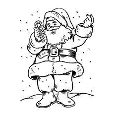 St. Nicholas Picture for Kids Coloring