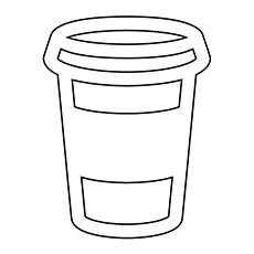 Coffee Coloring Pages - Starbucks Coffee
