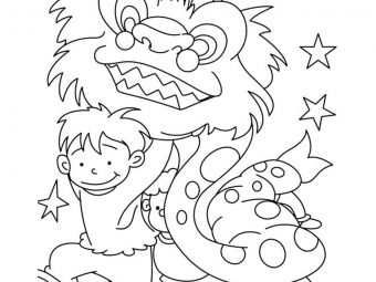 Top 15 Chinese New Year Coloring Pages For Toddler