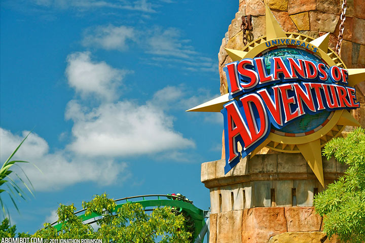 Theme Parks In USA - Universal's Islands Of Adventure, Orlando